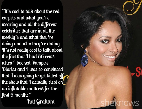 Kat Graham quote — Life is Beautiful 2015