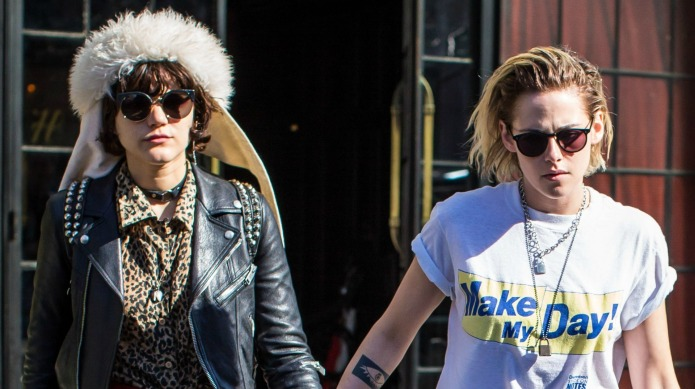 Kristen Stewart clearly isn't hiding her