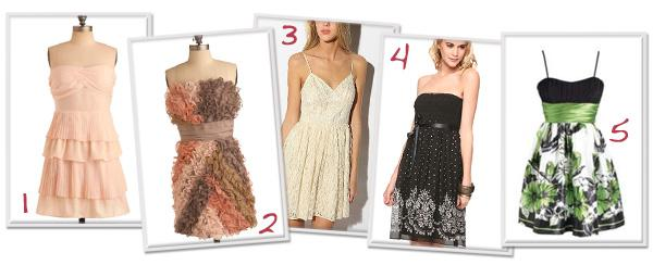 10 Pretty prom dresses for less