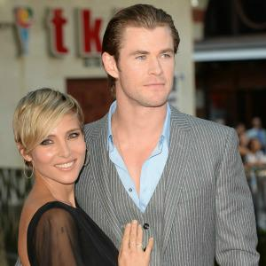 Chris Hemsworth's wife stood in for
