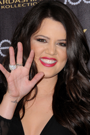 khloe kardashian nip slip on the x factor