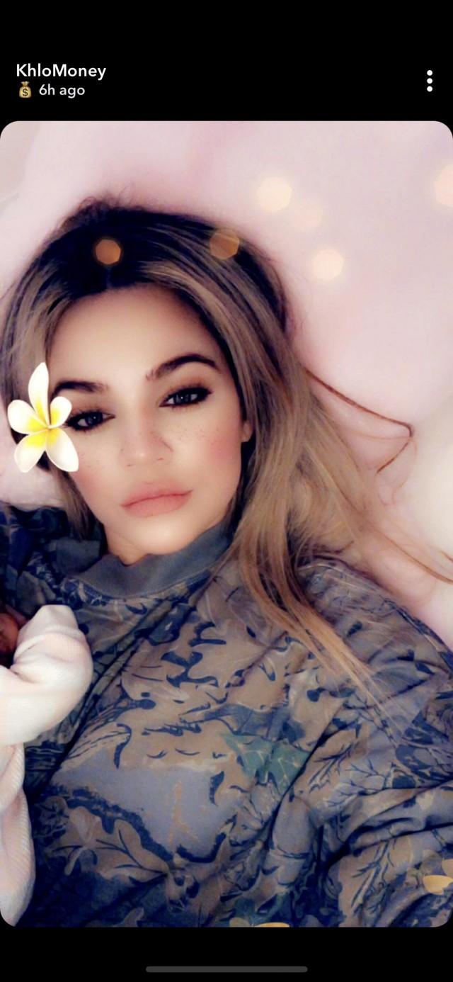 Khloe Kardashian Snapshat