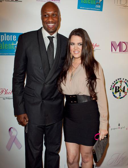 Khloe Kardashian and Lamar Odem