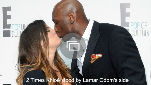 Khloe and Lamar timeline slideshow
