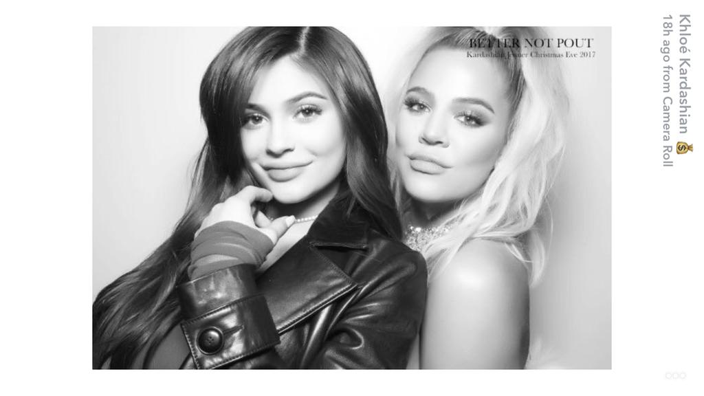 Khloe Kylie pregnancy Snapchat christmas party
