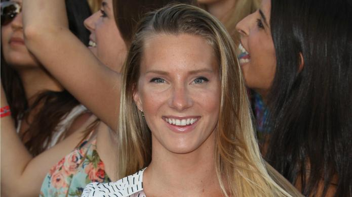 Glee alum Heather Morris gets plenty
