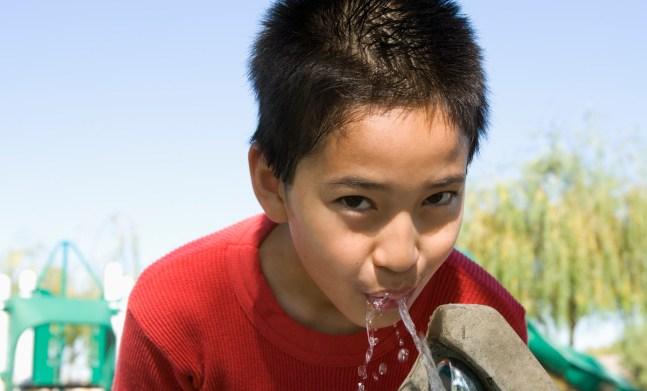 New study shows children aren't drinking