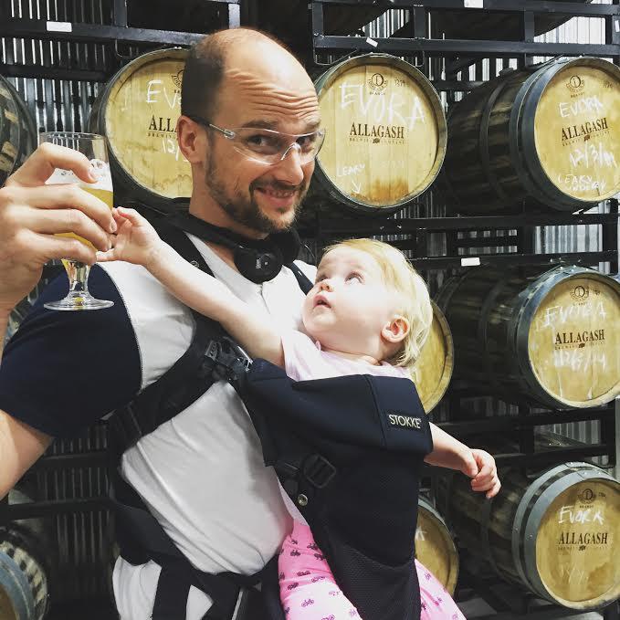Kids at craft breweries
