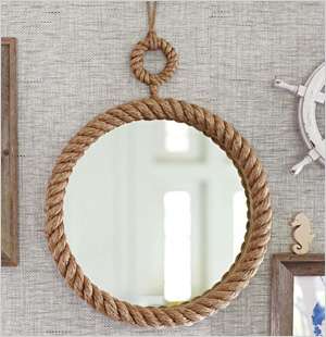 Nautical Rope Mirror from Pottery Barn Kids