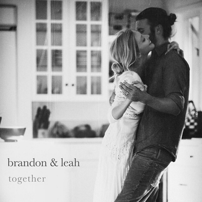 Brandon Jenner and Leah Jenner