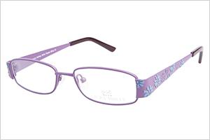 Laura Ashely flower bliss grape kids eyeglasses | Sheknows.com