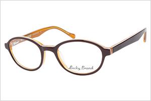 Lucky lucas brown orange kids eyeglasses | Sheknows.com