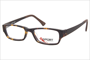 Dakota smith Y-sport tweak matte brown kids eyeglasses | Sheknows.com