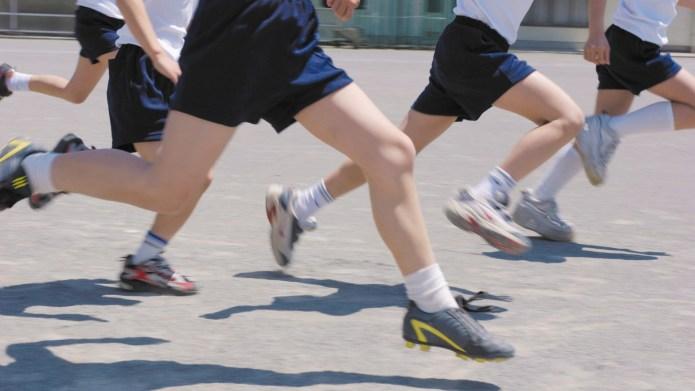 School makes kids run a mile