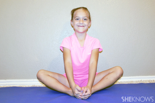 Butterfly pose - Yoga poses for kids