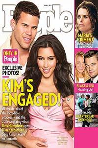 Kim Kardashian and Kris Humphries engaged