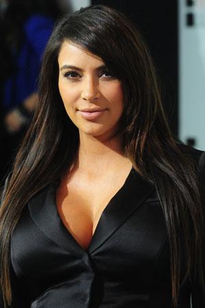 Kim Kardashian appears on Kris