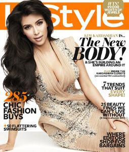 Kim Kardashian InStyle Australia