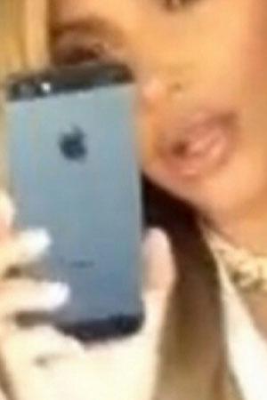 Kim Kardashian iPhone 5s