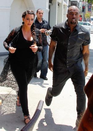 Kim Kardsahian Kanye West