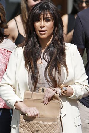 Kim Kardashian things pregnancy is hard