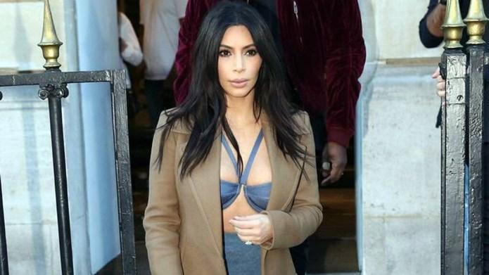 Kim Kardashian's Earth Day selfie creates