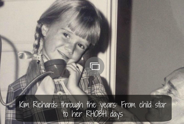 Kim Richards through the years