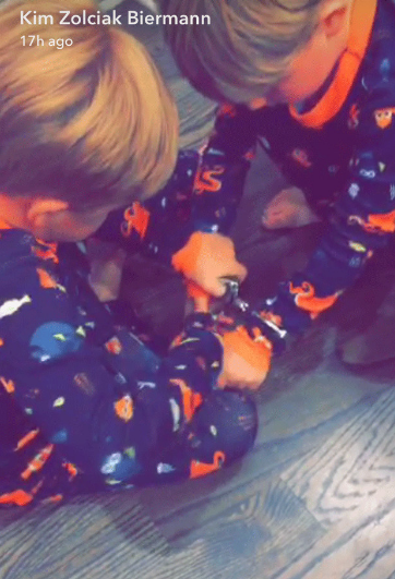 kim zolciak kids handcuffed