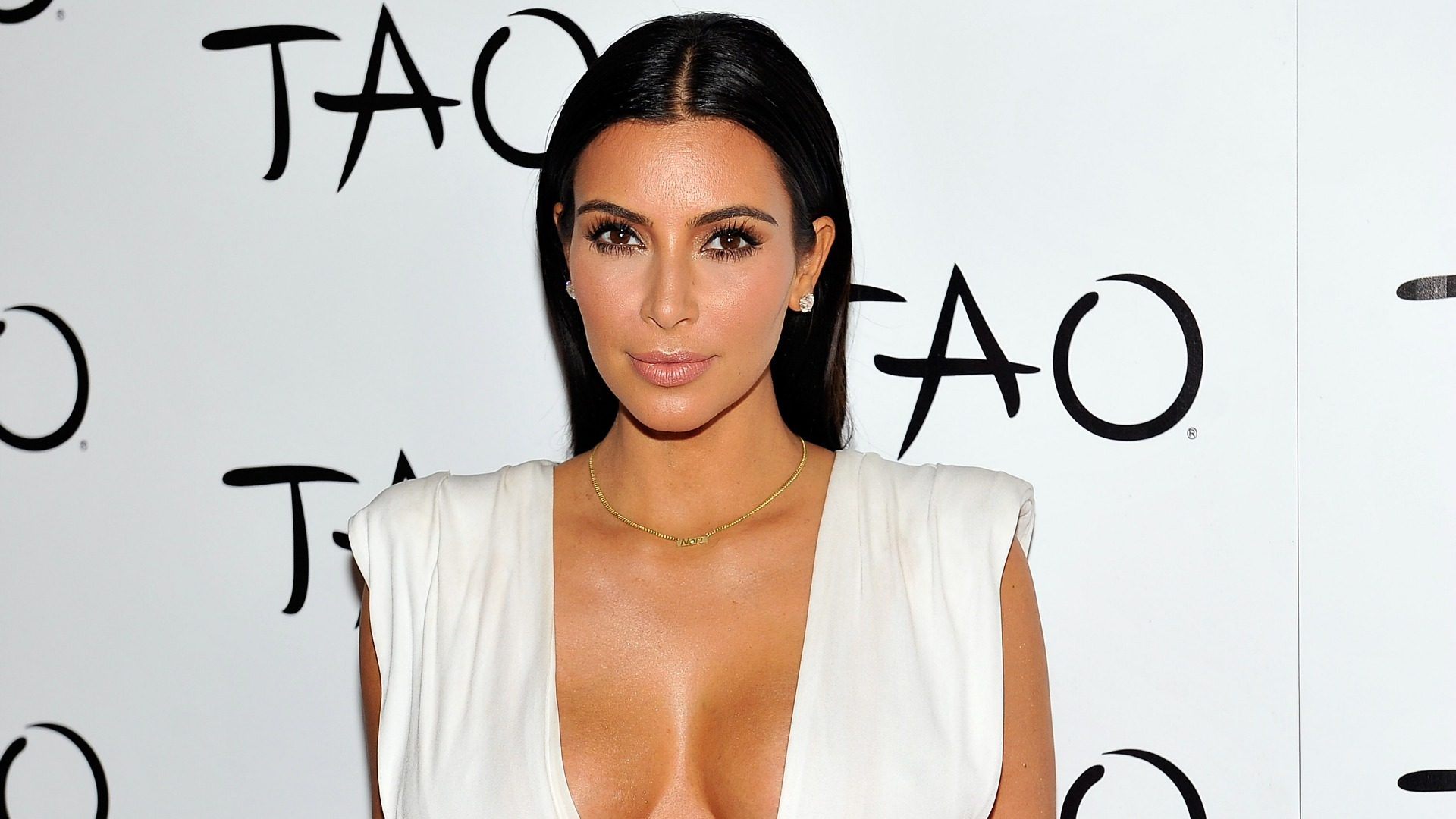 Kim Kardashian's latest television cameo appearance is in 2 Broke Girls