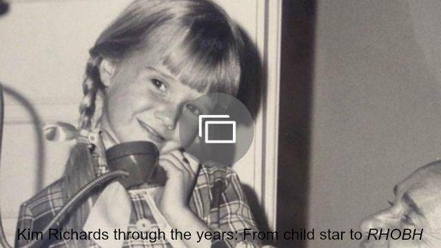 kim richards through the years slideshow