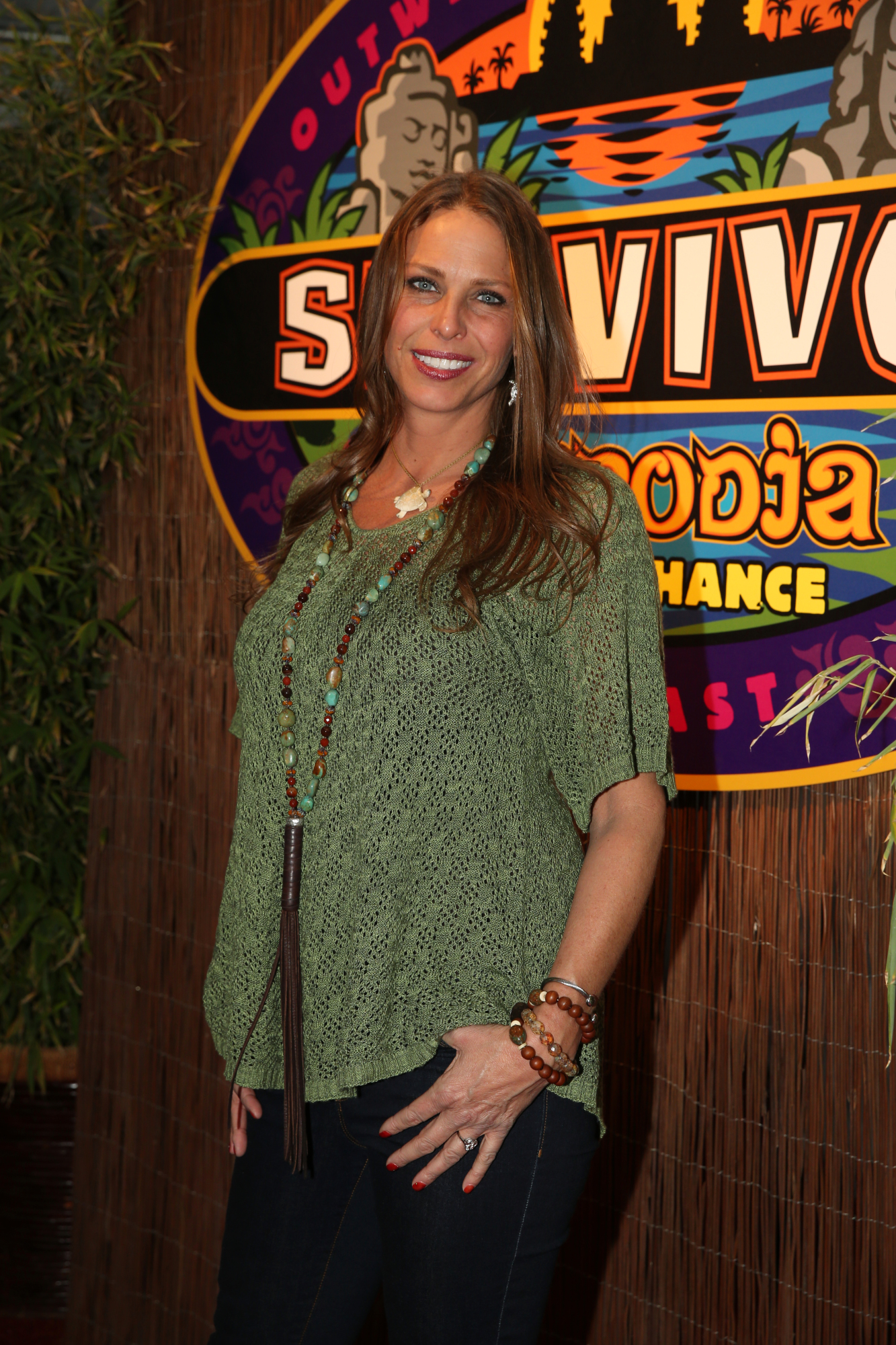 Kimmi Kappenberg on the Survivor: Second Chance finale red carpet