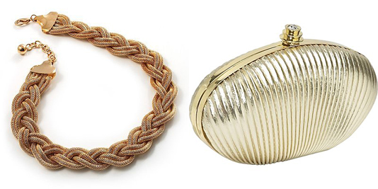 Gold-choker-gold-clutch