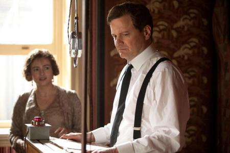 The King's Speech stars Colin Firth and Helena Bonham Carter