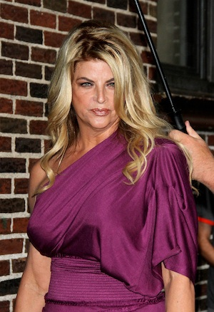 Kirstie Alley makes a cocaine confession.
