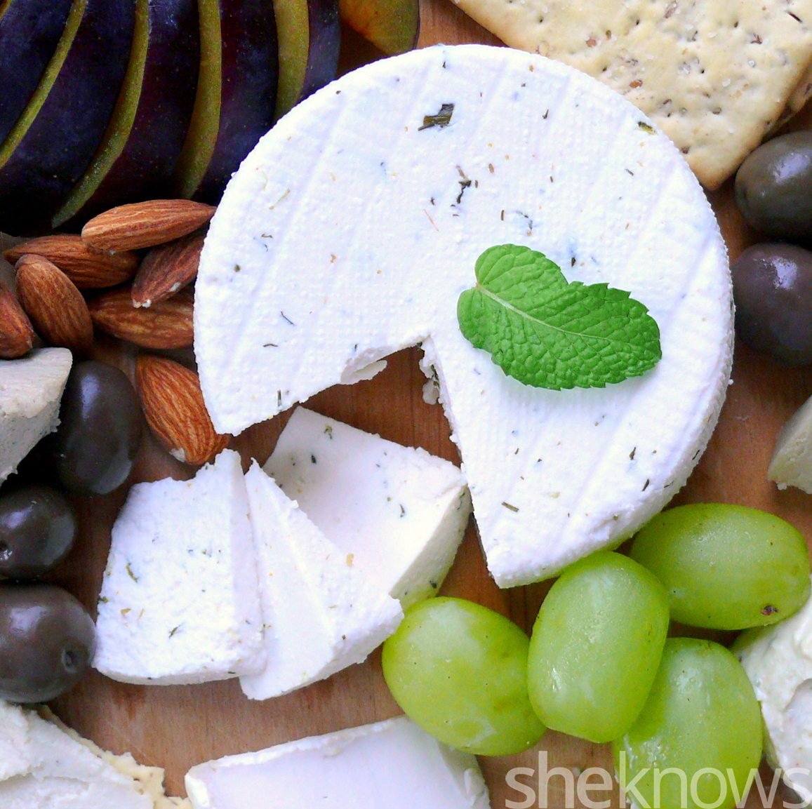 kite hill vegan almond cheese dill truffle