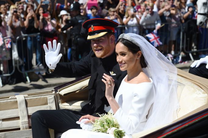 Photo from Meghan Markle & Prince Harry's royal wedding