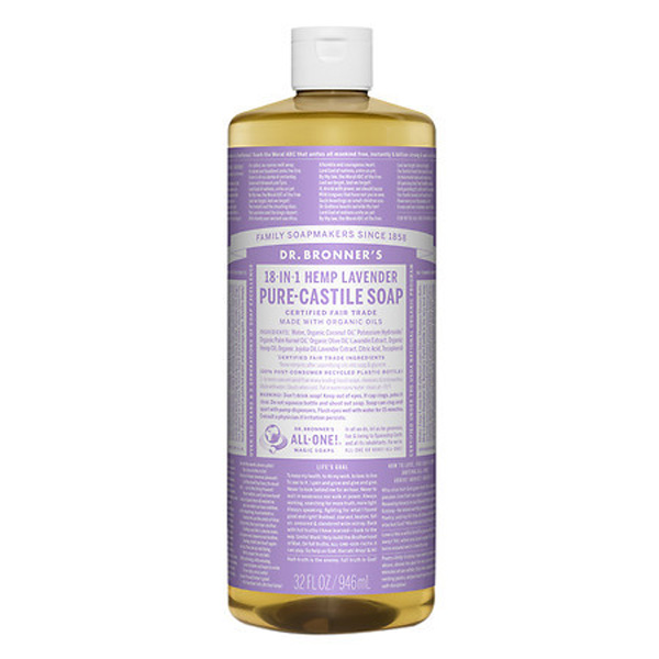 Beauty Products Meghan Markle Swears By | Dr. Bronner's Pure Castille Soap In Lavender