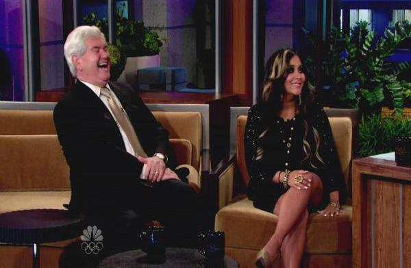 Snooki and Newt Gingrich bond over...