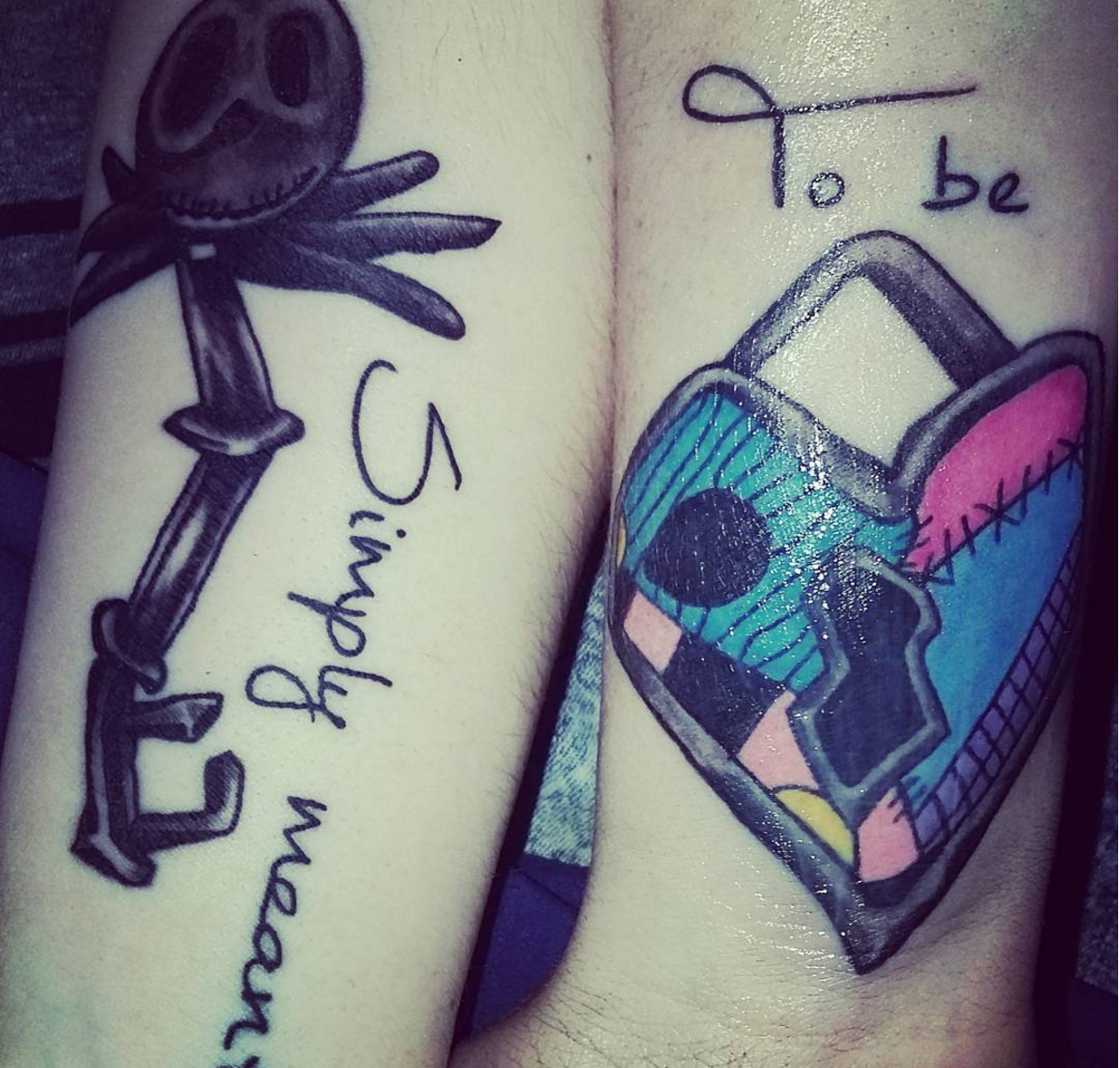 3dff437a2 We are in love with these Disney-themed couple tattoos – SheKnows