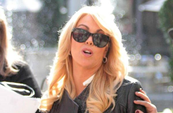 Dina Lohan's ice scream? Embarrassing celeb