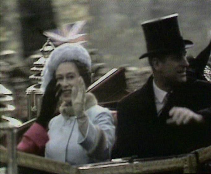 Queen Elizabeth II & Prince Philip in 1972