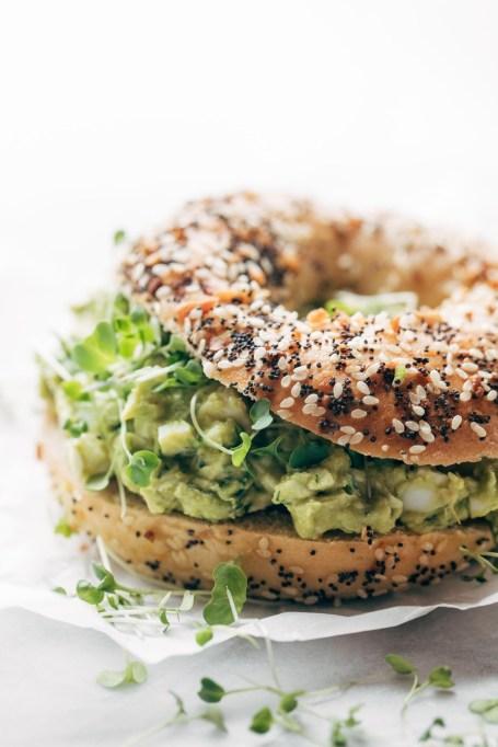 Avocado recipes that don't involve toast: avocado egg salad