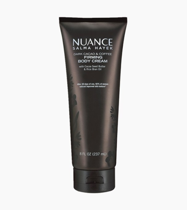 Seriously Good Beauty Products at CVS : Nuance Salma Hayek Dark Cacao And Coffee Firming Body Cream | Drugstore Beauty
