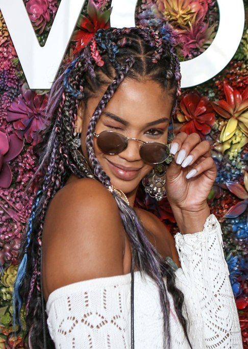 Best Celebrity Braids: Chanel Iman | Celeb Hair Inspo 2017