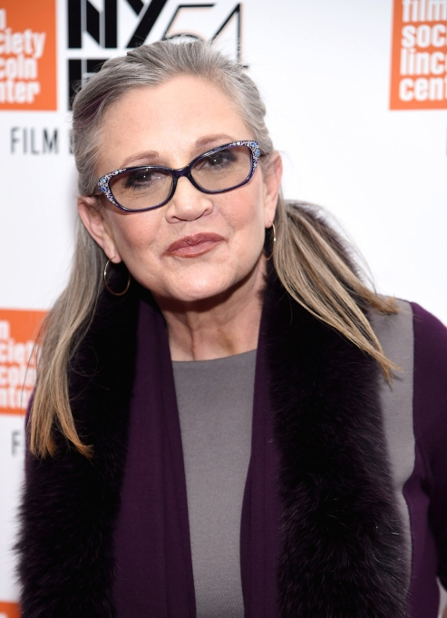 Carrie Fisher October 2016