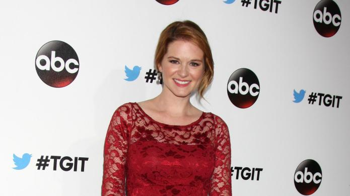 Sarah Drew's first pregnancy had her