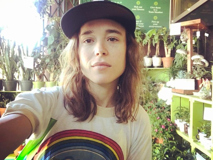 Celebrities Who You Didn't Know Had Freckles | Ellen Page