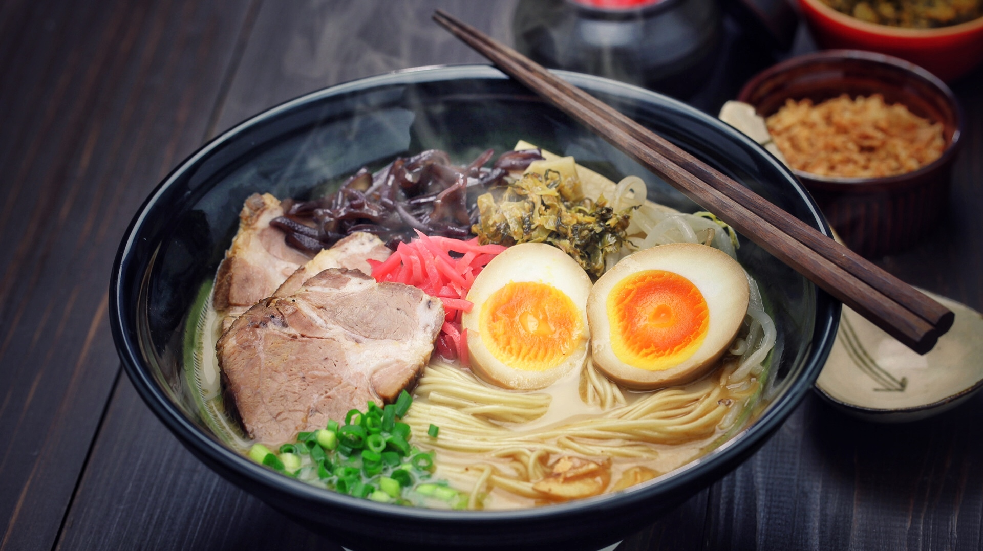 Tasty ramen topping combos that think way outside the cellophane package