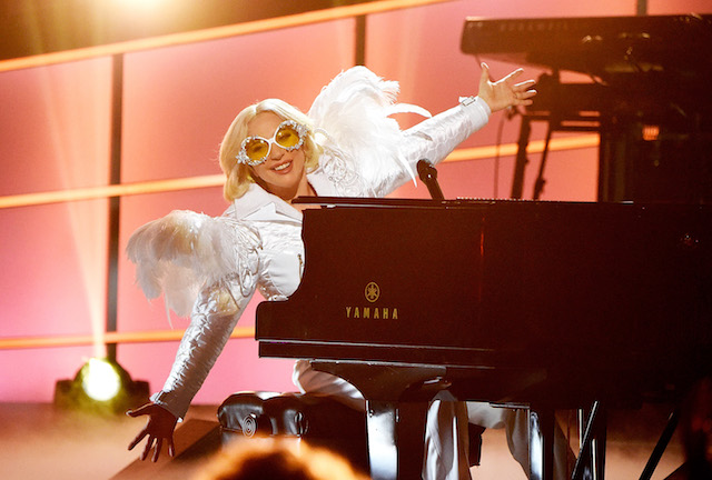 Lady Gaga performs onstage during 60th Annual GRAMMY Awards - I'm Still Standing: A GRAMMY Salute To Elton John