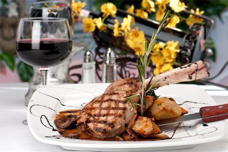 Valentine's Day food and wine pairing